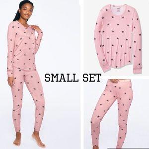 VS Pink Cozy Star Sleep Pajama Set